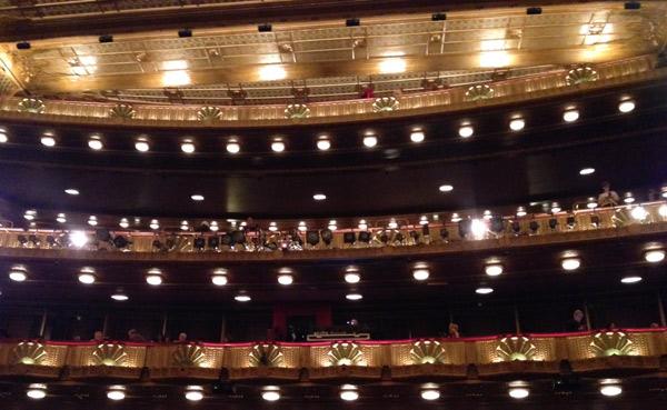 Balcony, Ardis Krainik Theatre, Lyric Opera House, Chicago